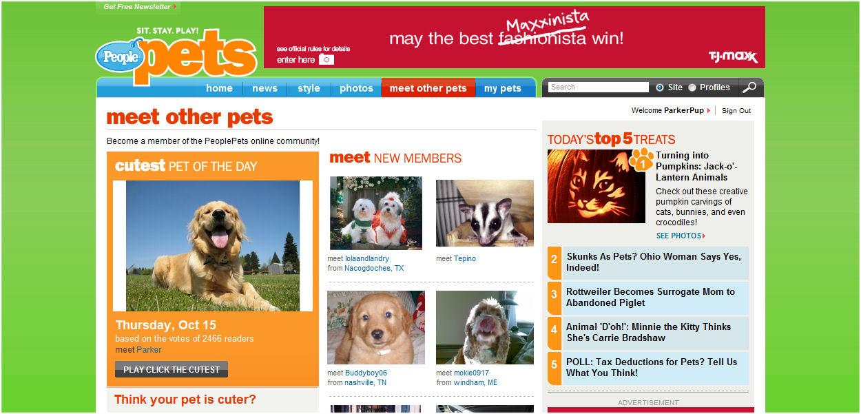 People magazine - Click the Cutest winner :)